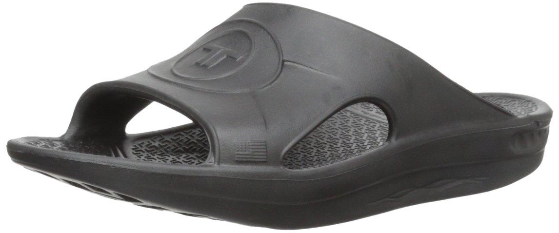 Sandalias de Jalea de Deslizamiento Unisex de Telic Medium|Negro