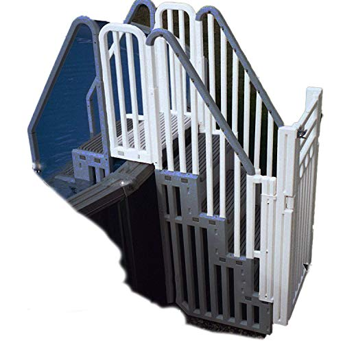 Confer Above Ground Pool Blue Enclosure Kit for use with Confer Step 1 (Step Not Included)