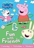 Peppa Pig Fun with Friends (Sticker Scenes & Coloring Book)