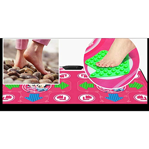 QXMEI Somatosensory Dance Mat Computer TV Dual-use Massage Blanket LED Projection Blanket,Pink by QXMEI (Image #6)