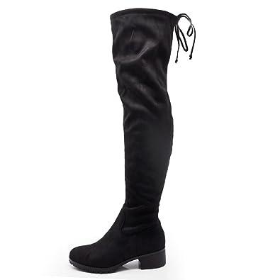 codice promozionale 91161 701b3 - Senza marca/Generico - If Fashion Stivali da Donna Scamosciati Alti sopra  Ginocchio