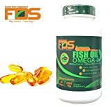 Omega 3 Fish Oil On Immune System and Memory best Supplements for Depression & Arthritis - Made with High Dose Of Fish Oils with Vitamin E - EPA and DHA - Burpless Pills By FDS - 2000mg 120 Softgels