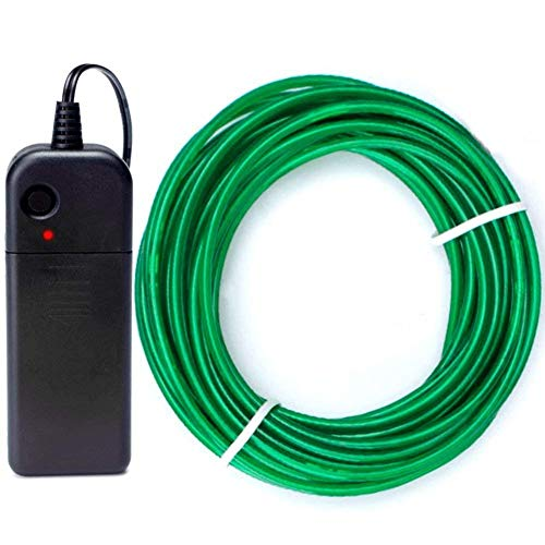 BYS Neon Light El Wire Green