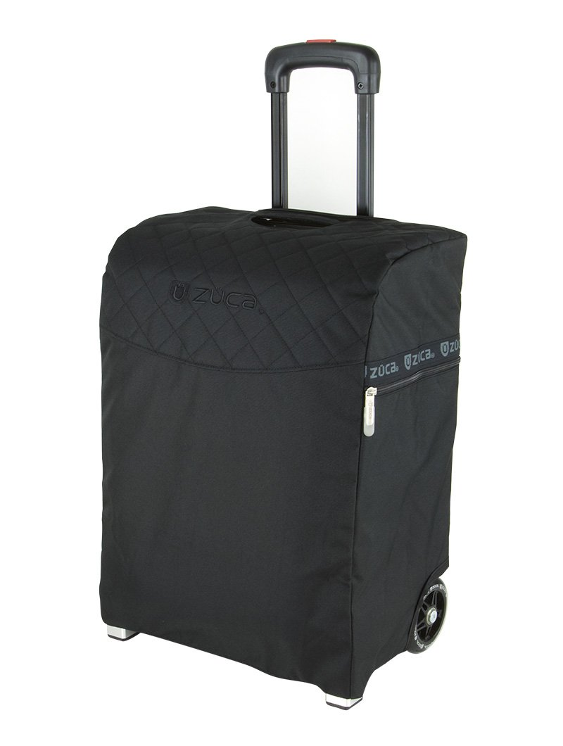 Zuca Flyer Artist Silver Frame with a Black Insert Bag, 5 Clear Vinyl Utility Pouches, and Matching Travel Cover - the Zuca Ultimate by ZUCA (Image #5)