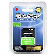 Maximal Power DB NIK EN-EL12 Replacement Battery for Nikon Digital Camera/Camcorder (Black)