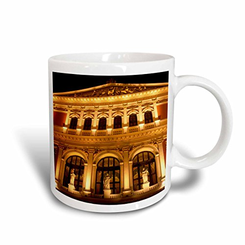 3dRose mug_75916_2 Austria, Vienna Music Hall, Philharmonic Orchestra Eu03 Rdu0031 Richard Duval Ceramic Mug, 15-Ounce ()