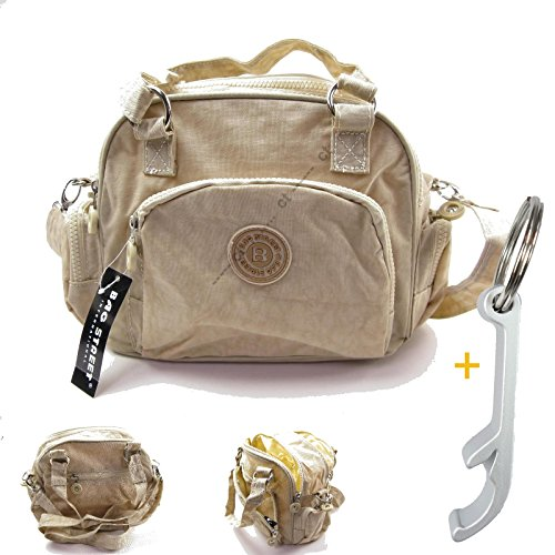 # 1861 Handbag/Shoulder Bag Street Casual Crinkle Nylon