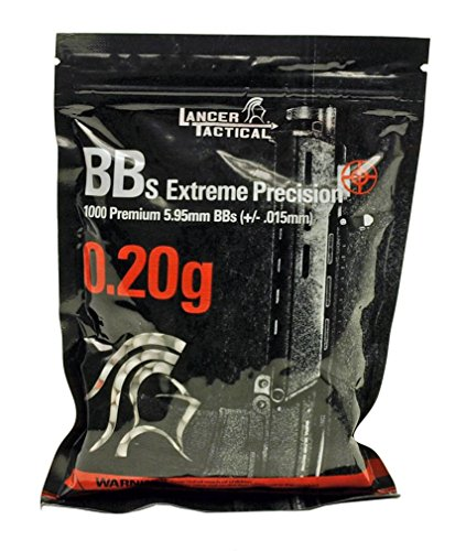 1000 Extreme Precision Seamless Airsoft BBs 6mm .20g (Use 6mm Bbs)