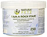 I AM A ROCK STAR! Memory, Gland (Hypothalmic, Pituitary and Adrenal) and Energy Support for All Life Stage Dogs and Cats, 250 Capsules, 500mg per Capsule