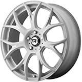 """Motegi Racing MR126 White Wheel with Milled Accents (17x8""""/5x114.3mm, +38mm offset)"""