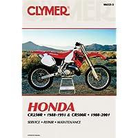 Clymer Honda CR250 1988-1991 - CR (CLYMER MOTORCYCLE REPAIR)