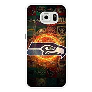 For Samsung Galaxy S6 Cover , Diy NFL Washington Redskins Logo White Hard Shell For Samsung Galaxy S6 Cover , Washington Redskins Logo For Samsung Galaxy S6 Cover