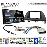 Volunteer Audio Kenwood DMX7704S Double Din Radio Install Kit with Apple CarPlay Android Auto Bluetooth Fits 2008-2010 Honda Odyssey