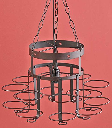 mason jars chandelier - 5