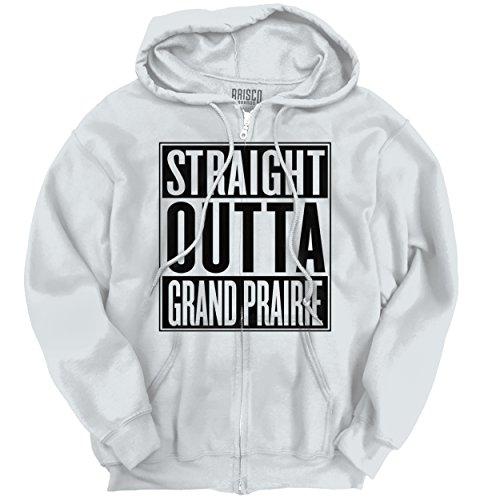 Classic Teaze Straight Outta Grand Prairie, TX City Movie T Shirts Gift Idea Zipper - Shops Grand In Prairie Tx