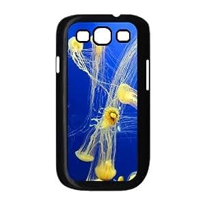 CHSY CASE DIY Design Beautiful jellyfish3 Pattern Phone Case For Samsung Galaxy S3 I9300