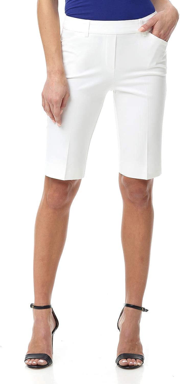 Rekucci Women's Smart Chic Short in Ultimate 360 Degree Stretch Cotton