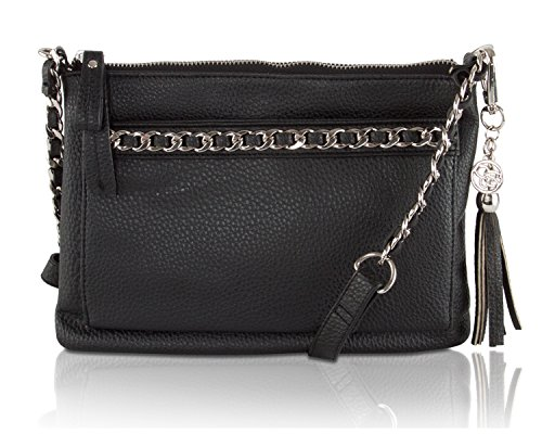 Jessica Simpson Lilia Crossbody Bag - Black