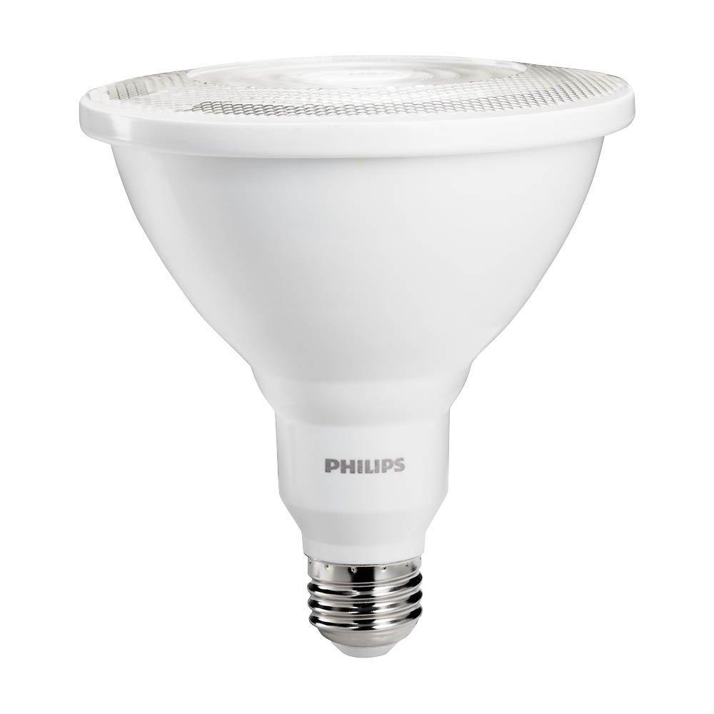 Philips led dimmable par38 35 degree spot light bulb 1200 lumen philips led dimmable par38 35 degree spot light bulb 1200 lumen 5000 kelvin 12 watt 100 watt equivalent e26 base daylight 1 pack amazon buycottarizona