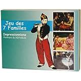 Editions Dusserre - f 02 - Jeu de Cartes - 7 familles Peintures Française du XIXème siècle