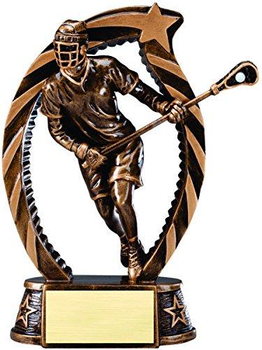 (Lacrosse Sculptured Star Resin Trophy Award)