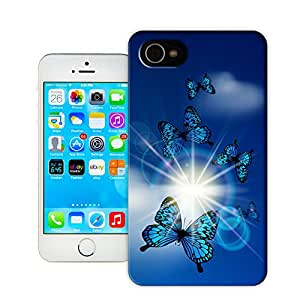 X-Cases Butterfly TPU Hard Phone Shell Cases For iPhone4 4s