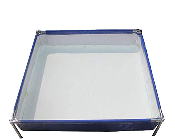 DGLIYJ Piscina Rectangular Desmontable de Acero Pro Splash Frame ...