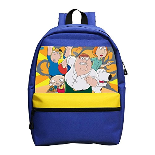 Price comparison product image Custom Family Guy Backpack Students School Bag Kids Backpack