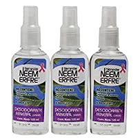 Paquete 3 Desodorantes de Origen Mineral para Dama