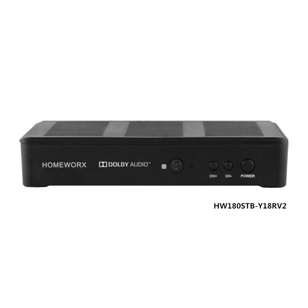 Mediasonic HomeWorx ATSC Digital Converter Box + HDMI Cable with TV Tuner and TV Recording Function (HW180C) by Mediasonic (Image #5)