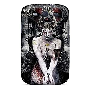 SherieHallborg Samsung Galaxy S3 Protector Hard Phone Cases Custom High-definition Breaking Benjamin Pictures [YnL10205dfzc]