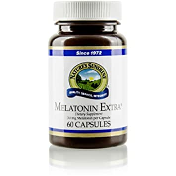"MELATONIN EXTRA 3MG, Dietary Supplement, 60 Capsules, 3.0 mg, ""FAST"