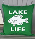 Lake Life-Fish Pillow Cover Nautical Fish Pillow Cover Review and Comparison