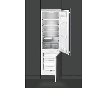 Smeg Kühlschrank Und Gefrierschrank : Smeg cr330ap eingebaut 265l a schwarz kühlschrank kühl