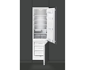 Mini Kühlschrank Zum Einbauen : Smeg cr330ap eingebaut 265l a schwarz kühlschrank kühl