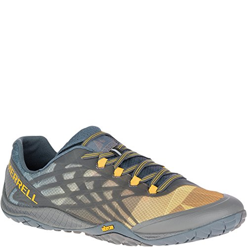 Merrell Mens Guanto 4 Tracce Runner Carboncino