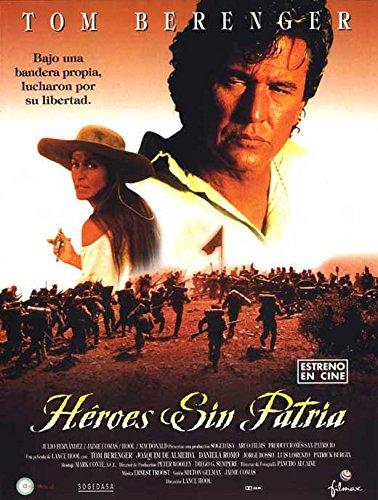 One Man's Hero Poster Movie Spanish 27x40