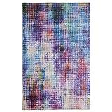 Mohawk Home Prismatic Linear Pixel Multicolor Abstract Precision Printed Area Rug, 8'x10' , Multicolor