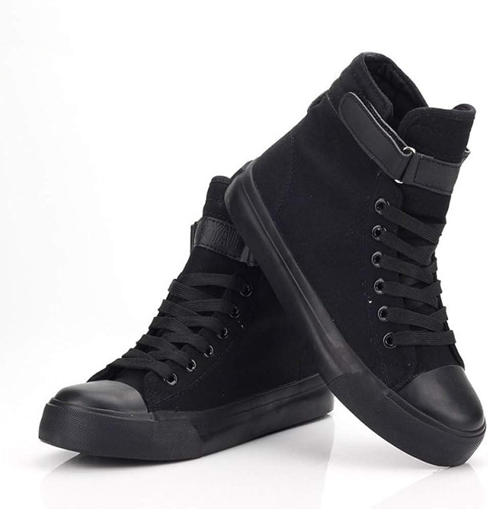 SCP Foundation Scarpe La Migliore Vendita di Tinta Unita Stile Britannico Scarpe Casual Studente Scarpe in Tela Antiscivolo Resistente Black02