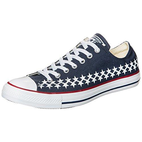 Converse Zapatillas Chuck Taylor All Star Ox Sneaker - azul oscuro / blanco