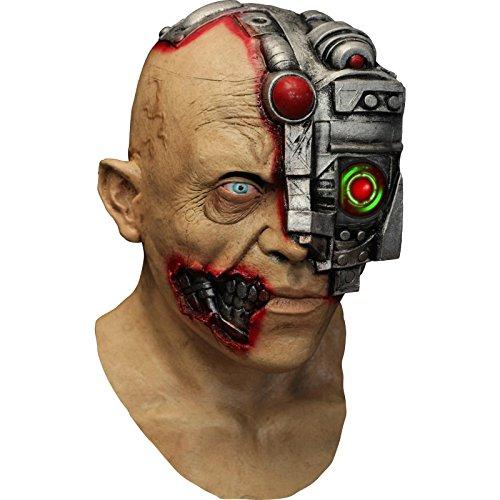 Futuristic Cyborg Digital Dudz Mask Unisex Fancy Dress Costume]()