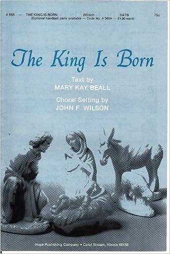he is born john wilson choral sheet music