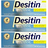 Desitin Rapid Relief (Creamy), 4.8 Ounces, (Pack of 3, 14.4 Ounces)