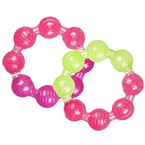 Munchkin Fun Ice Ring Teether, Colors May Vary (Pack of ()