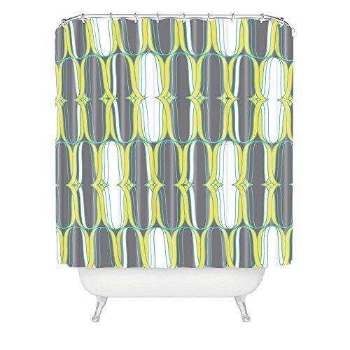 - Deny Designs 71 by 74-Inch Heather Dutton Lofty Idea Metro Shower Curtain, Standard