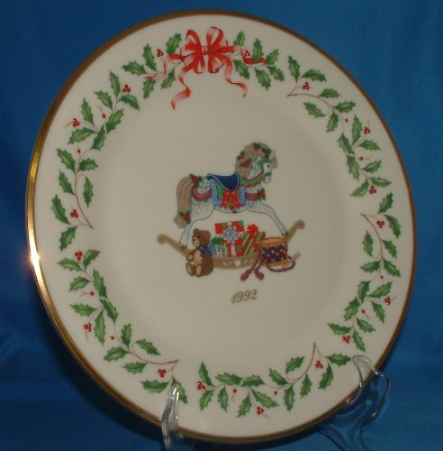 1992 Christmas Plate (1992 Lenox Annual Holiday Collector Plate