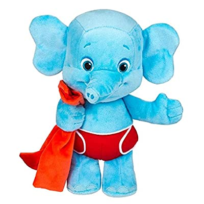"Snap Toys Word Party - Bailey 10"" Stuffed Plush Snuggle and Play Baby Elephant with Blanket - from The Netflix Original Series - 18+ Months: Toys & Games"