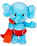 Word Party - Bailey 10'' Stuffed Plush Snuggle and Play Baby Elephant With Blanket - from the Netflix Original Series - 18+ Months