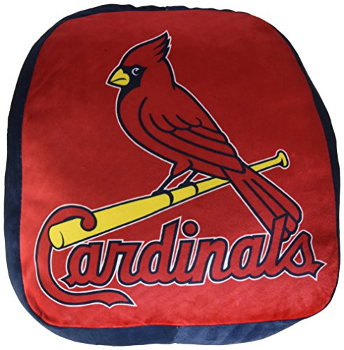 The Northwest Company MLB Arizona Cardinals Cloud Logo Pillow, One Size, Multicolor