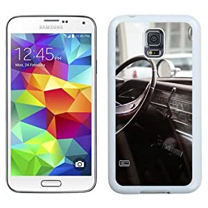 New Beautiful Custom Designed Cover Case For Samsung Galaxy S5 I9600 G900a G900v G900p G900t G900w With Retro Car Driver Seat Macro (2) Phone Case